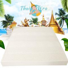 泰国原装进口泰米拉10cm厚度乳胶床垫(赠乳胶被*1、乳胶枕头*2)【180*200*10cm】
