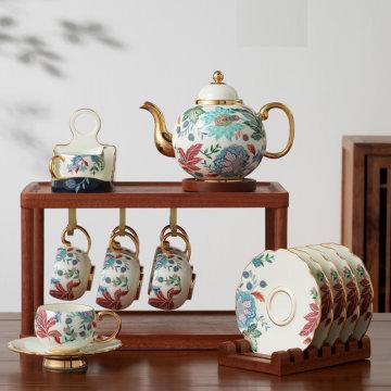 国瓷永丰源中秋礼·幸福满园18头茶咖具