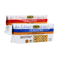 (代发)可意奇CRICH-梳打饼干250g*2 无 原味
