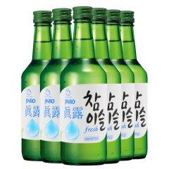 (代发)JINRO真露烧酒17.2°竹炭酒360ml*6