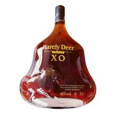 【9月9日酒水节专场】-法国进口御鹿名致XO白兰地2L/瓶*6【酒精度:40%vol】