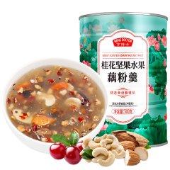 亨博士桂花坚果水果藕粉羹(藕粉羹500g/罐*10)