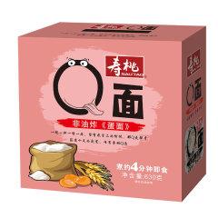 (代发)热销寿桃Q面(非油炸蛋面)手挽装630G/盒*1