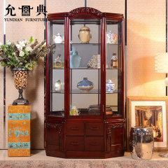 上海允典海棠花六角酒柜【长110cm、宽48cm、高210cm】