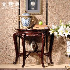 上海允典刺猬紫檀法式壁桌【长88cm、宽43cm、高79cm】