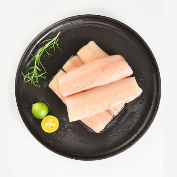出鲜阿拉斯加鳕鱼颈背肉500g*8袋特惠组