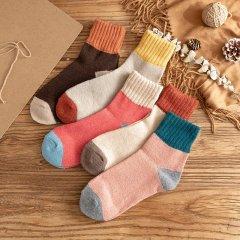 (代发)羊毛袜女中筒袜女长筒袜MR5026-10