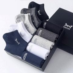 (代发)船袜短筒棉袜男袜MR2019-10