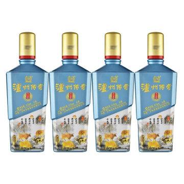 抢购-泸州老窖泸州传奇财兴福旺牛年生肖酒(白酒475ml/瓶*4)【酒精度:52%VOL】
