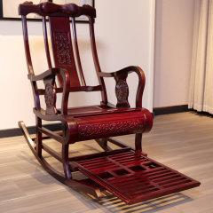 颐和仙境鸟语花香富贵椅(赠沉香手串*1)【摇椅尺寸:120*60*102cm】