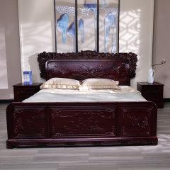 欢雀喜悦卧室套组(床架*1、赠床头柜*2)【1.5M或者1.8M任选】