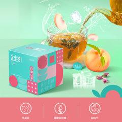 (代发)金尘果味茶(白桃30g/盒*1、玫瑰25g/盒*1、红茶25g/盒*1)