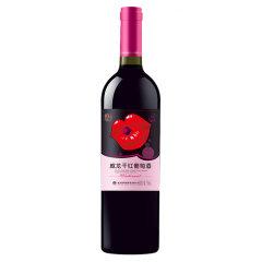 威龙干红葡萄酒 纯 750ml单支 喜宴用红酒