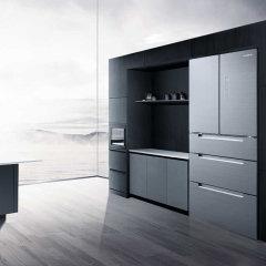 美的冰箱BCD-406WGPZM冰川银