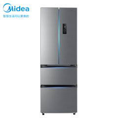 美的冰箱 BCD-323WTPM(E) 星际银