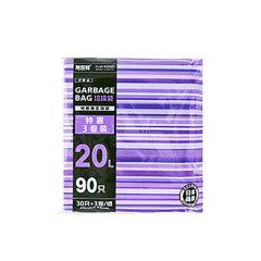 旭包鲜点断式垃圾袋 20L (45cm*55cm)(30只*3卷装 )