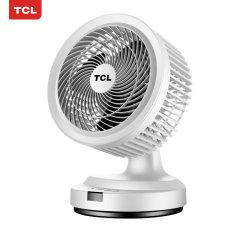 TCL电风扇空气循环扇家用台式风扇TXS-20KDY(白)