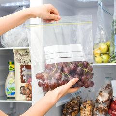禧天龙塑料密封袋家用食品分装封口袋子加厚透明自封袋密封食品袋 8783