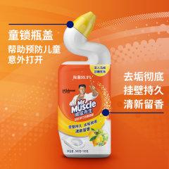 威猛先生(Mr Muscle)深层净力洁厕啫哩柠檬草香600g*4瓶