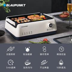德国蓝宝无烟烧烤炉电烤盘家用小型不粘室内多功能烤锅肉串煎烤机