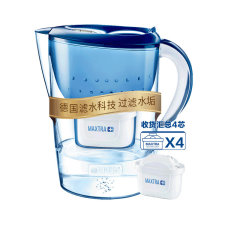 碧然德 Brita 净水器 滤水壶 海洋蓝色 3.5升一壶四芯