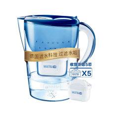 碧然德 Brita 净水器 净水壶 海洋蓝色 3.5升 一壶5芯