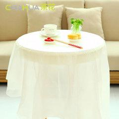 茶花一次性桌布3405一次性桌布160*160CM