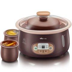 小熊(Bear)紫砂电炖锅 隔水电炖盅电砂煮粥锅DDZ-118TA1