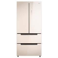 美的冰箱BCD-516WGPM极地金