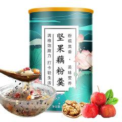 酥田系列坚果藕粉羹500克/罐