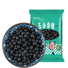 酥田系列 东北黑豆绿心 五谷杂粮醋泡黑豆可打豆浆 1kg