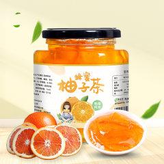 酥田系列蜂蜜柚子茶502g