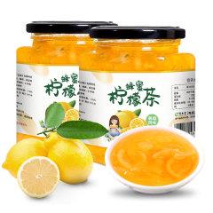 酥田系列蜂蜜柠檬茶502gx2罐