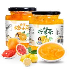 酥田系列蜂蜜柚子茶柠檬茶组合