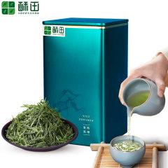 (苏宁酥田)黄山毛峰 茶叶绿茶毛尖春茶新茶50克 安徽茶叶雨前特级毛峰茶 高山绿茶50g/罐
