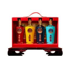 (店铺)国台·名匠工造酒(君品好礼)·53度·500ml*4礼盒*2【整箱】