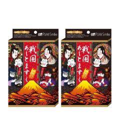 日本pure smile江户战国脸谱面膜4片装/盒