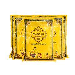 6包装 | 泰国LANNA兰纳足贴祛湿驱寒改善睡眠痛经 10贴 APP版本
