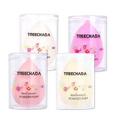 泰国Treechada天然乳胶粉扑干湿两用美妆蛋(颜色随机一个装)