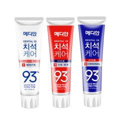 3件装|爱茉莉 麦迪安93牙膏(红白蓝)120g [三支装]