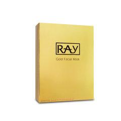 泰国RAY蚕丝超薄面膜贴 补水美白 金色 10片/盒 妆蕾版