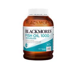 澳洲Blackmores澳佳宝无腥味深海鱼油400粒