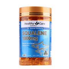 澳洲Healthy Care 深海鱼油角鲨烯胶囊200粒