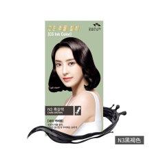 韩国直邮 SOMANG所望 花之使者染发剂 N2深黑褐色 60g+60g+6g+6g