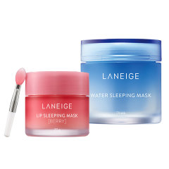 Laneige/兰芝夜间修护睡眠面膜70ml+夜间保湿睡眠修护唇膜 20g