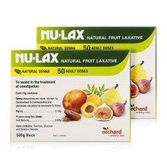 【澳洲顺丰直邮】NU-LAX 天然果蔬乐康膏 500g 【2盒】