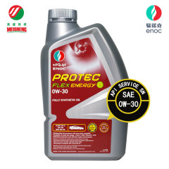 易诺克enoc SN 0W-30 1L全合成机油润滑油原装迪拜进口API认证