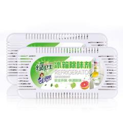 洁宜佳 冰箱除味剂 竹炭包 60g*2盒  36916711