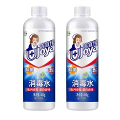 洁宜佳480ml84消毒水2瓶装  42214956
