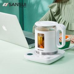 山水(sansui)智能控温养生壶全自动加厚玻璃家用多功能煮茶壶花茶壶